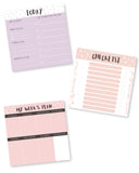 Planner-Mini Planners - set of 3 - Daily/Weekly and To do-STATIONERY-PropShop24.com