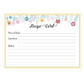 Recipe pad-Cook with love Recipe pad - A5 Size-STATIONERY-PropShop24.com