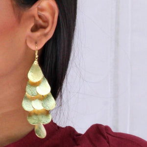 Earrings - Hall Of Gold-EARRINGS-PropShop24.com
