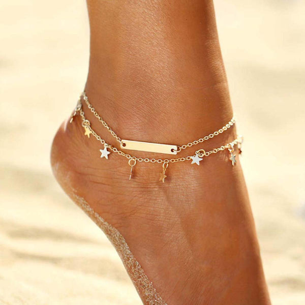Anklet - Stella Stars-JEWELLERY-PropShop24.com