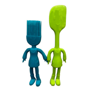 Spatula And Pastry Brush-DINING + KITCHEN-PropShop24.com