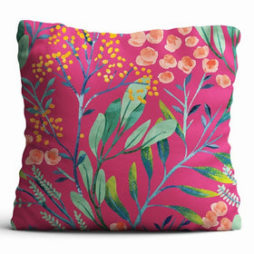 Cushion Cover - Berries - Pink-HOME-PropShop24.com