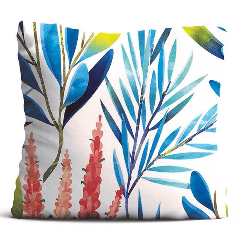 Cushion Cover - Rustling Leaves - Ivory-HOME ACCESSORIES-PropShop24.com