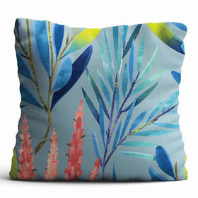 Cushion Cover - Rustling leaves - Lilac-HOME-PropShop24.com