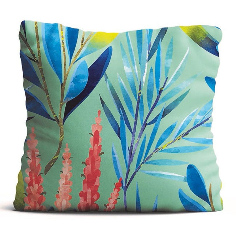 Cushion Cover - Rustling Leaves - Green-HOME ACCESSORIES-PropShop24.com