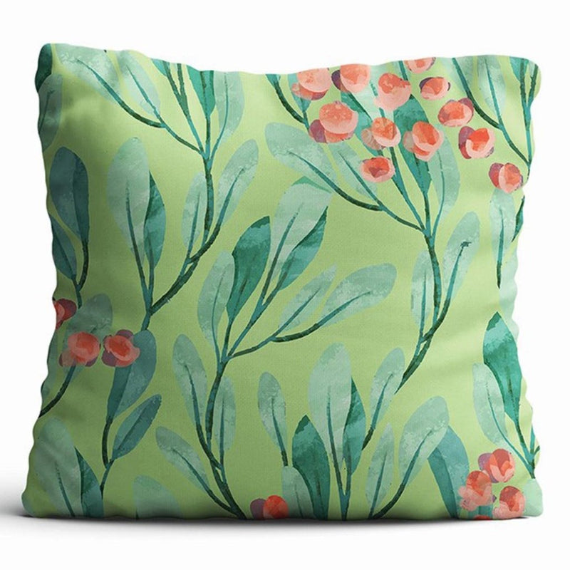 Cushion Cover - Lush Greens - Light Green-HOME ACCESSORIES-PropShop24.com