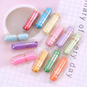 Message Capsule Pills With Scroll - Set of 50 - Transparent-GREETING CARDS-PropShop24.com