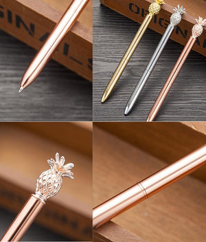 Luxury Pen - Elegant Pineapple-PENS + PENCILS + PAPER CLIPS-PropShop24.com