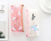 Pencil Pouch Box Stationery Case Organizer - Unicorn Transparent-WOMEN-PropShop24.com