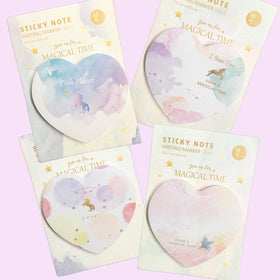 Sticky Notes - Unicorn Magical-STATIONERY-PropShop24.com