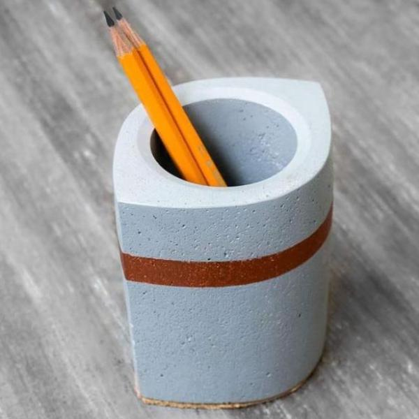 Eye Catchy - Pen Stand - Grey-STATIONERY-PropShop24.com
