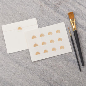Lotus Seal Stickers - Includes 240 Stickers (20 Sheets)-STATIONERY-PropShop24.com