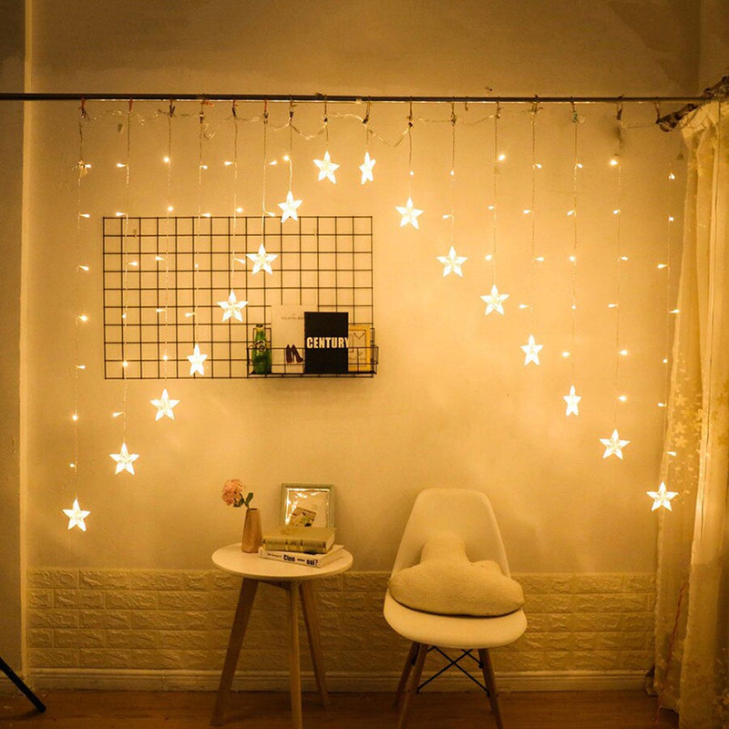 LED And Star Curtain Lights-HOME-PropShop24.com