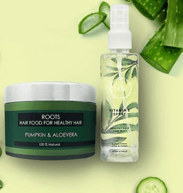 Hair Fall Treatment - Roots Hair Food + Scalp Vitamin Spray-Beauty-PropShop24.com