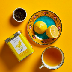 Lemon Aid - Green Tea With Lemon And Lemonpeel - 20 Pyramid Teabags - Each Teabags Makes 2 Cups-DRINKS-PropShop24.com