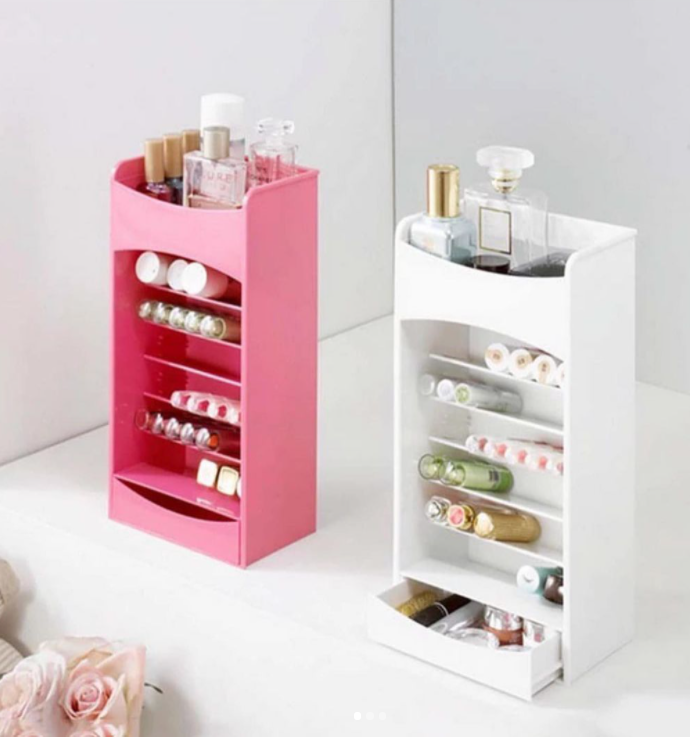 Lipstick And Nail Paint Organizer-ORGANIZERS + STORAGE-PropShop24.com