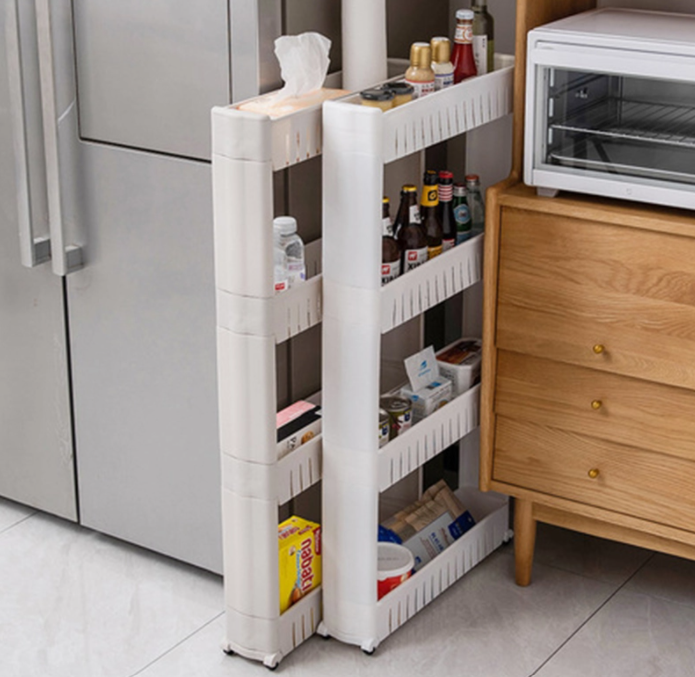 Kitchen Storage Rack With Wheels-ORGANIZERS + STORAGE-PropShop24.com