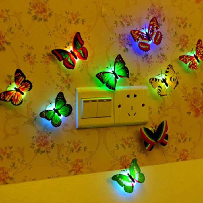 LED Butterfly - Single Piece - Assorted-HOME ACCESSORIES-PropShop24.com