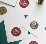 Stamp - Monogram Wax Seal-STATIONERY-PropShop24.com