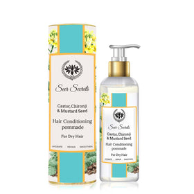 Castor Chironji & Mustard Seed Hair Conditioning Pommade-BEAUTY-PropShop24.com