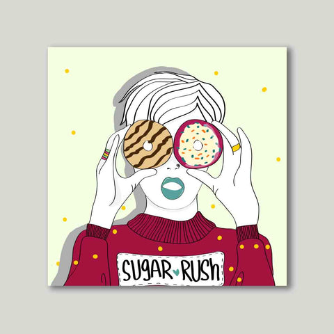 Art print - Sugar rush