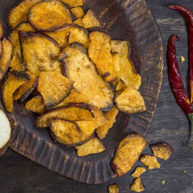 Sriracha Sweet Potato Chips-FOOD-PropShop24.com