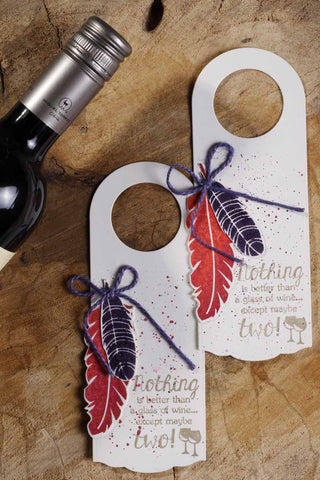 TAG - two glasses of wine - set of 2-Stationery-PropShop24.com