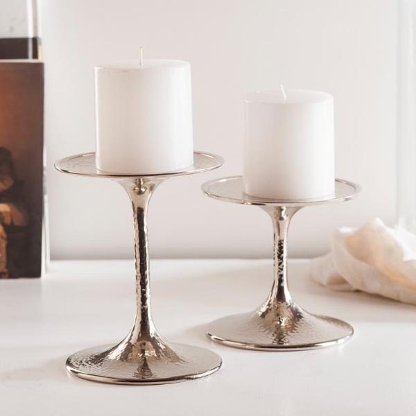 Candle Holder - Ellie Candle Holders - Set of 2-HOME-PropShop24.com