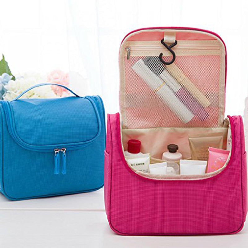 Travel Cosmetic Pouch - Blue-WOMEN-PropShop24.com