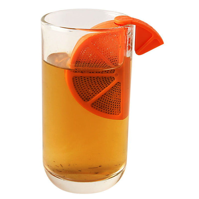Tea Infuser - Orange Shape - Assorted-DINING + KITCHEN-PropShop24.com