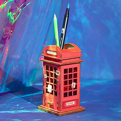 DIY - Telephone Booth Pen Holder-DESK ACCESSORIES-PropShop24.com