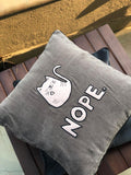 Cushion Cover - Nope-HOME-PropShop24.com