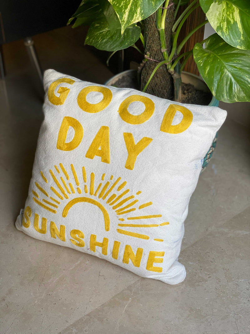 Cushion Cover - Good Day Sunshine-HOME ACCESSORIES-PropShop24.com