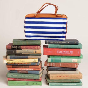 Mini Duffle - Blue Stripe-FASHION-PropShop24.com
