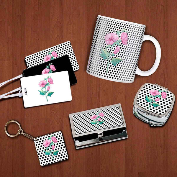 Daily Essential Set - Flowers And Dots-FASHION-PropShop24.com