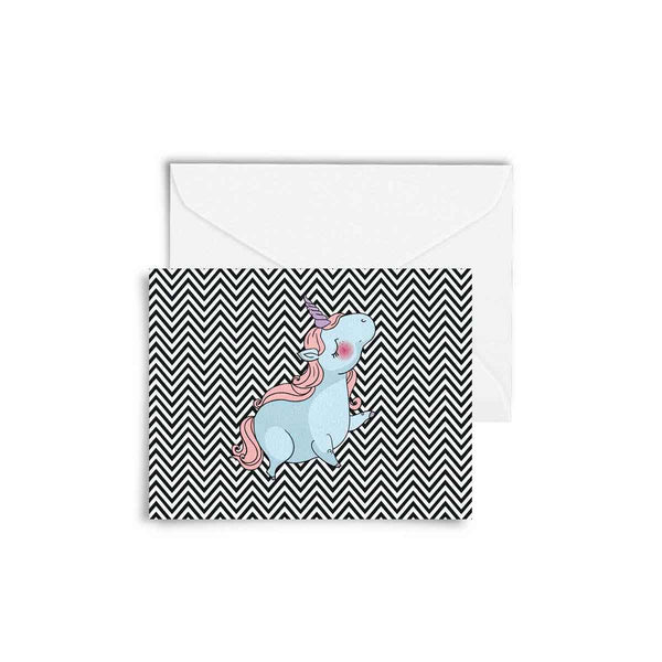 Cards with Envelopes - Set of 6 - Unicorn Love-Stationery-PropShop24.com