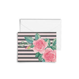 Card with Envelope - Vintage Roses-Stationery-PropShop24.com