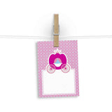 Gift Tag - Set Of 12 - A Princess'S Chariots-Stationery-PropShop24.com