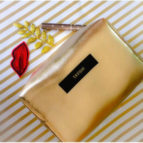 Personalized Metallic Gold Travel Kit - C.O.D Not Available-FASHION-PropShop24.com