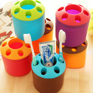 Toothbrush / Stationery Holder - Assorted-DESK ACCESSORIES-PropShop24.com