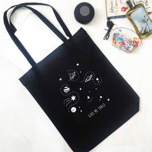 Tote - Give Me Space - Black-WOMEN-PropShop24.com