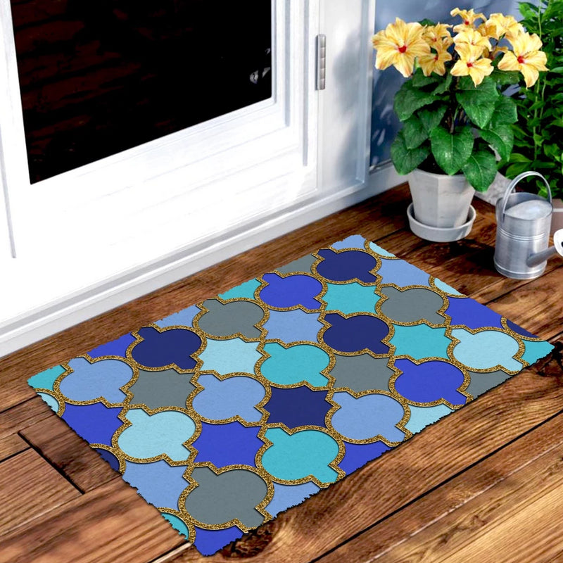 Doormat - Glitter Greek Pattern-HOME ACCESSORIES-PropShop24.com
