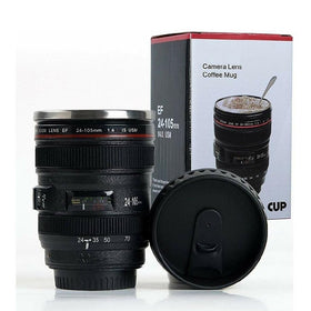 CAMERA LENS - COFFEE MUG WITH SIPPER LID-HOME-PropShop24.com