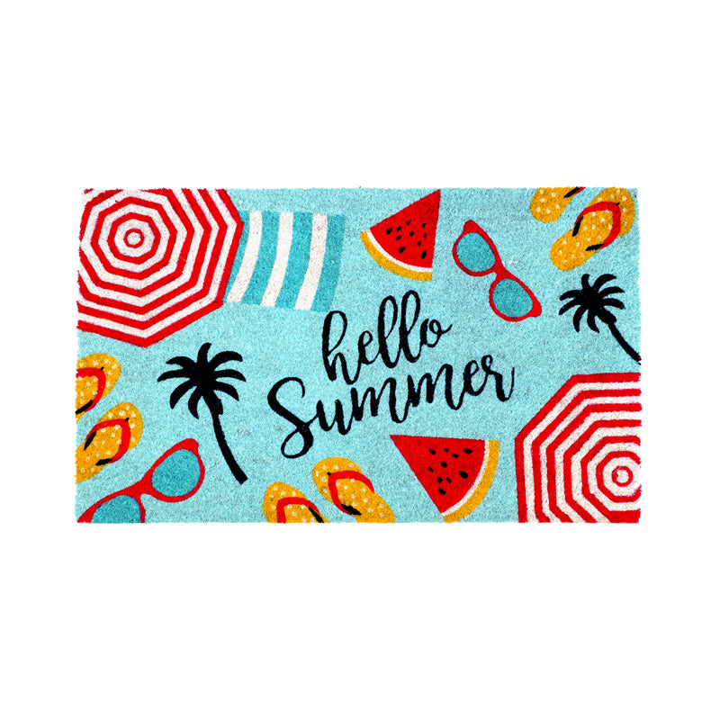 Door Mat - Hello Summer-HOME ACCESSORIES-PropShop24.com