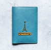 Personalized - Passport Cover With Charms - Turquoise - C.O.D Not Available-TRAVEL ESSENTIALS-PropShop24.com