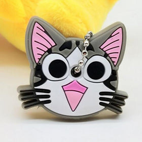 Cat Key Cover Keychain-FASHION-PropShop24.com