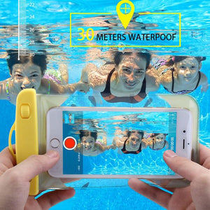 Waterproof Underwater Phone Outdoor Pouch Bag - Hello Summer-GADGET ACCESSORIES-PropShop24.com