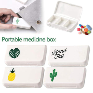 Mini 3 Grid Portable Travel Pill Medicine Organizer Case - Summer Edition-ORGANIZERS-PropShop24.com