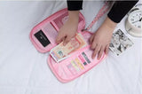 Travel Pouch Passport Organizer with Hand Strap - Floral-FASHION-PropShop24.com