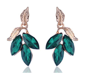 Earrings - Green Foliate-EARRINGS-PropShop24.com